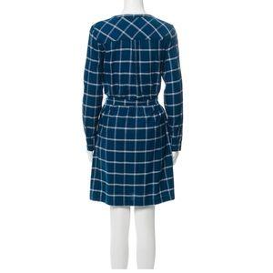 Draper James Dresses - Draper James blue plaid dress
